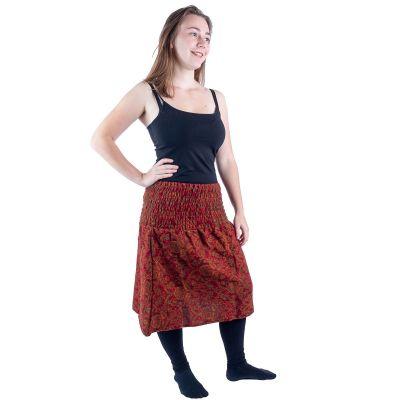 Akrylová midi sukně Omala Temper India