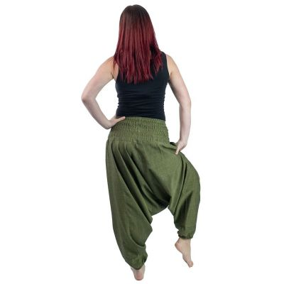 Harémové kalhoty Hijau Jelas