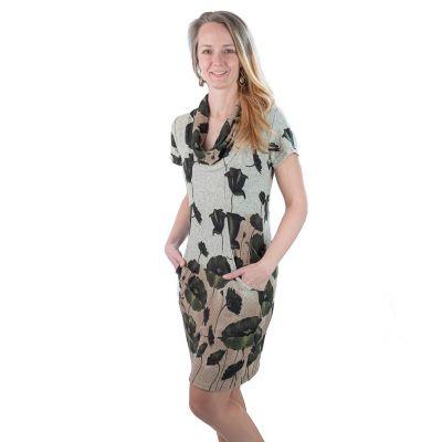 Jarní / podzimní šaty Hijau Madat Pendek