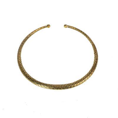 Mosazný náhrdelník Eleonora