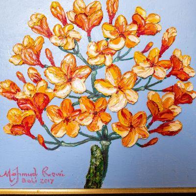 Obraz Oranžový strom
