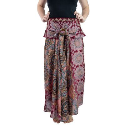 Dlouhá sukně s kokosovou sponou Kelapa Gula-gula