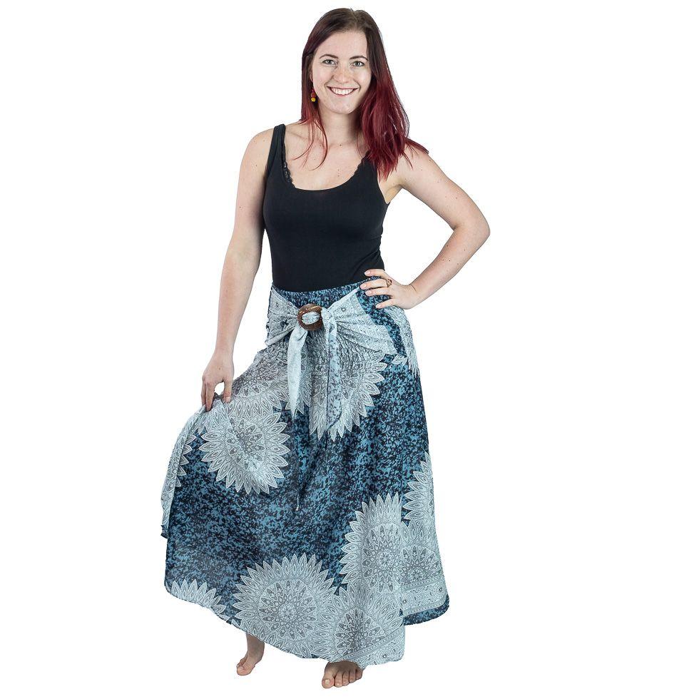 Dlouhá sukně s kokosovou sponou Kelapa Reina