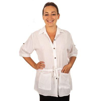 Dámská košile Sumalee White | UNI