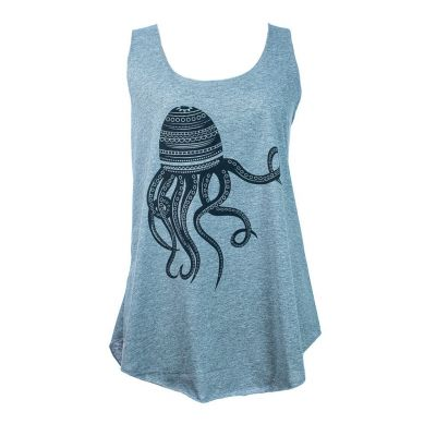 Tílko Darika Octopus Grey