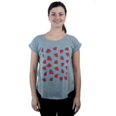 Tričko Darika Watermelons Grey