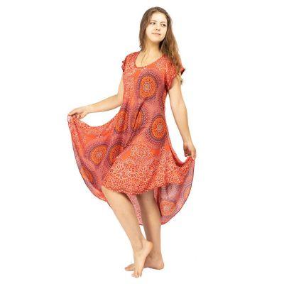 Šaty Yami Darah – s krátkým rukávem