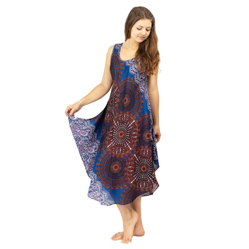Plážové šaty Yami Pantai - bez rukávu Thailand