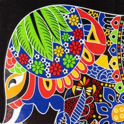 Sarong / pareo Slon modrý Thailand