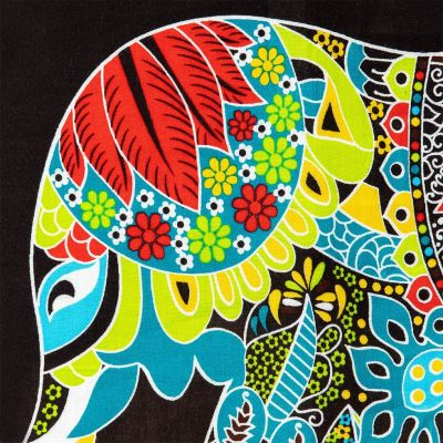 Sarong / pareo Slon tyrkysový Thailand
