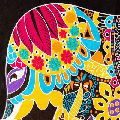 Sarong / pareo Slon žlutý Thailand