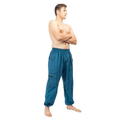 Bavlněné kalhoty Arun Pirus Nepal