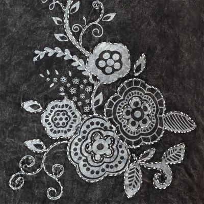 Bavlněné etno šaty Gavya Hitam Nepal