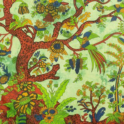 Bavlněný přehoz na postel Strom života India