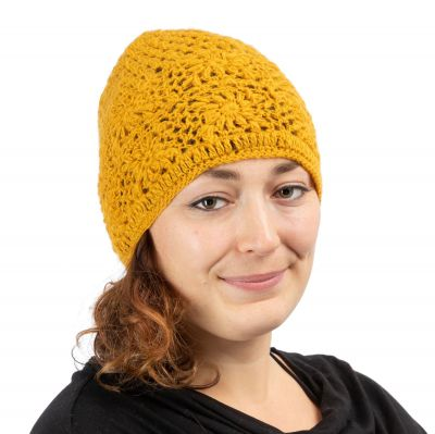 Čepice Bardia Yellow