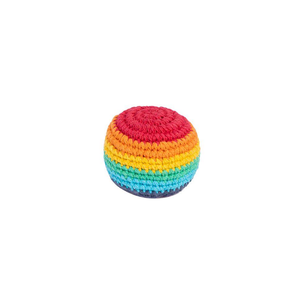 Háčkovaný míček hakisák – Rainbow Nepal