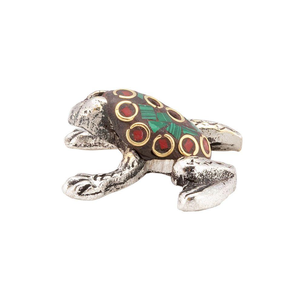 Stojánek na vonné tyčinky Zdobená žabka 4 India