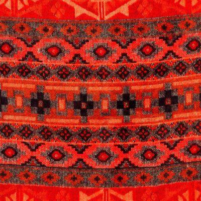 Akrylová šála Manju Merah India