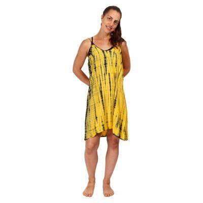 Šaty Gajra Yellow