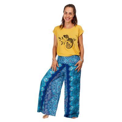 Dámské tričko s krátkým rukávem Darika Chameleon Yellow | UNI