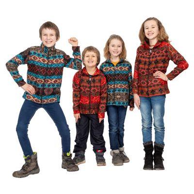 Dětská etno mikina Sanjona Merah India
