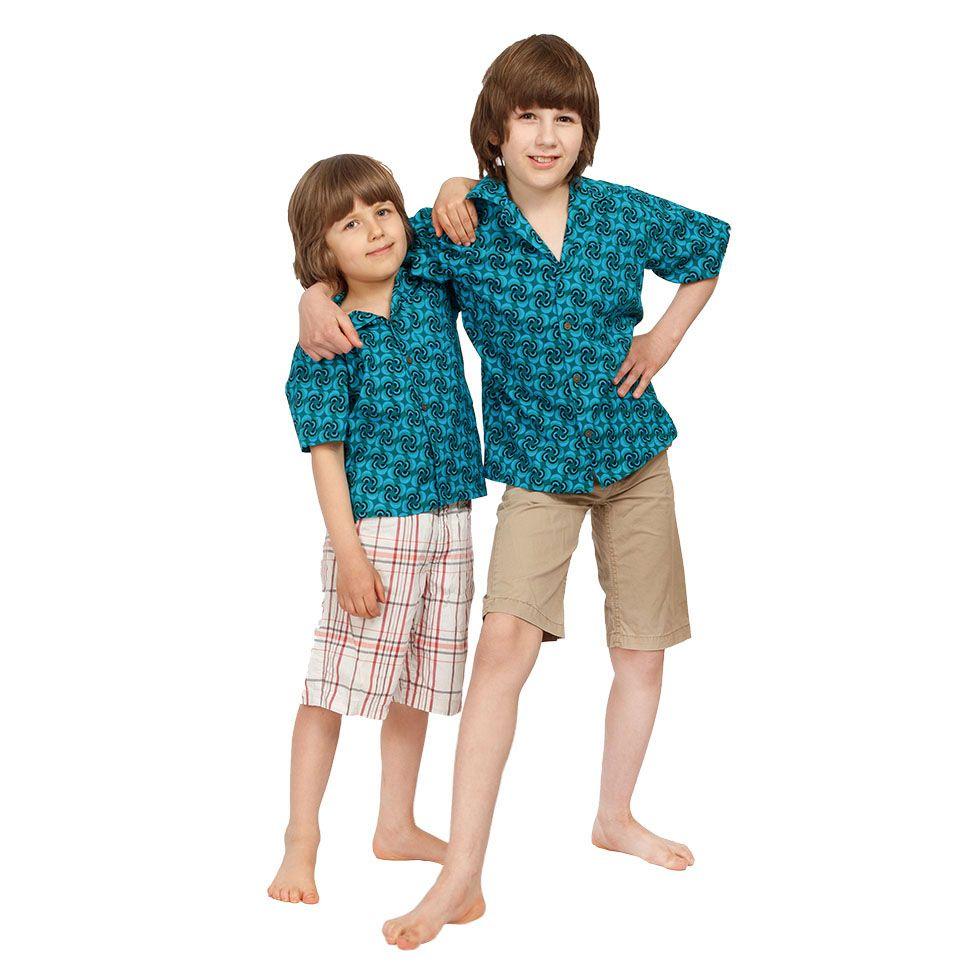 """Dětská """"havajská košile"""" Nihoa India"""