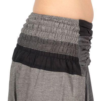 Harémové kalhoty Telur Black Nepal