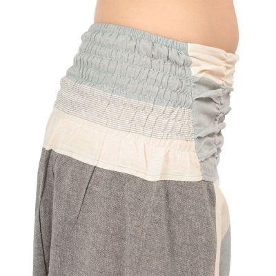 Harémové kalhoty Telur Grey Nepal