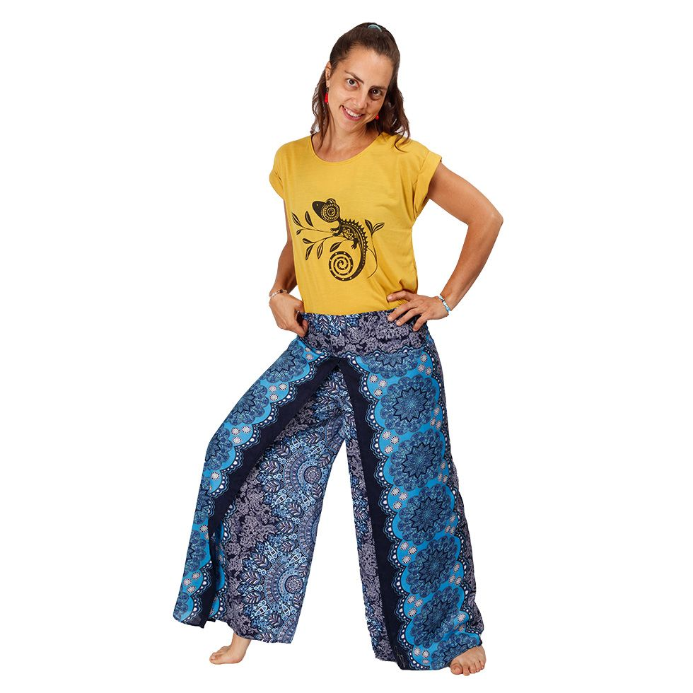 Široké kalhoty Sayuri Benazir Thailand
