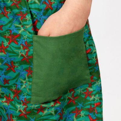 Tříčtvrteční bavlněné kalhoty Starfish India