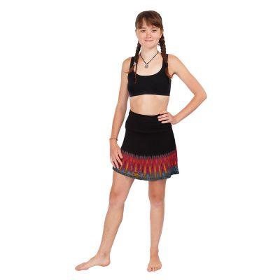 Batikovaná mini sukně Gamon Berhasil | UNI (odpovídá S/M)