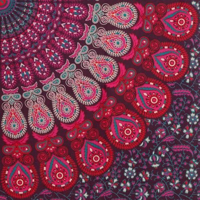 Bavlněný přehoz na postel Borůvkový sen India