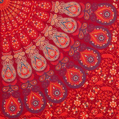 Bavlněný přehoz na postel Indické dobrodružství India