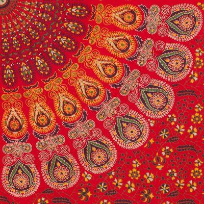 Bavlněný přehoz na postel Osudová láska India