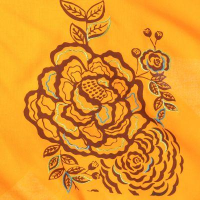 Cípatá sukně s elastickým pasem Tasnim Mustard Nepal