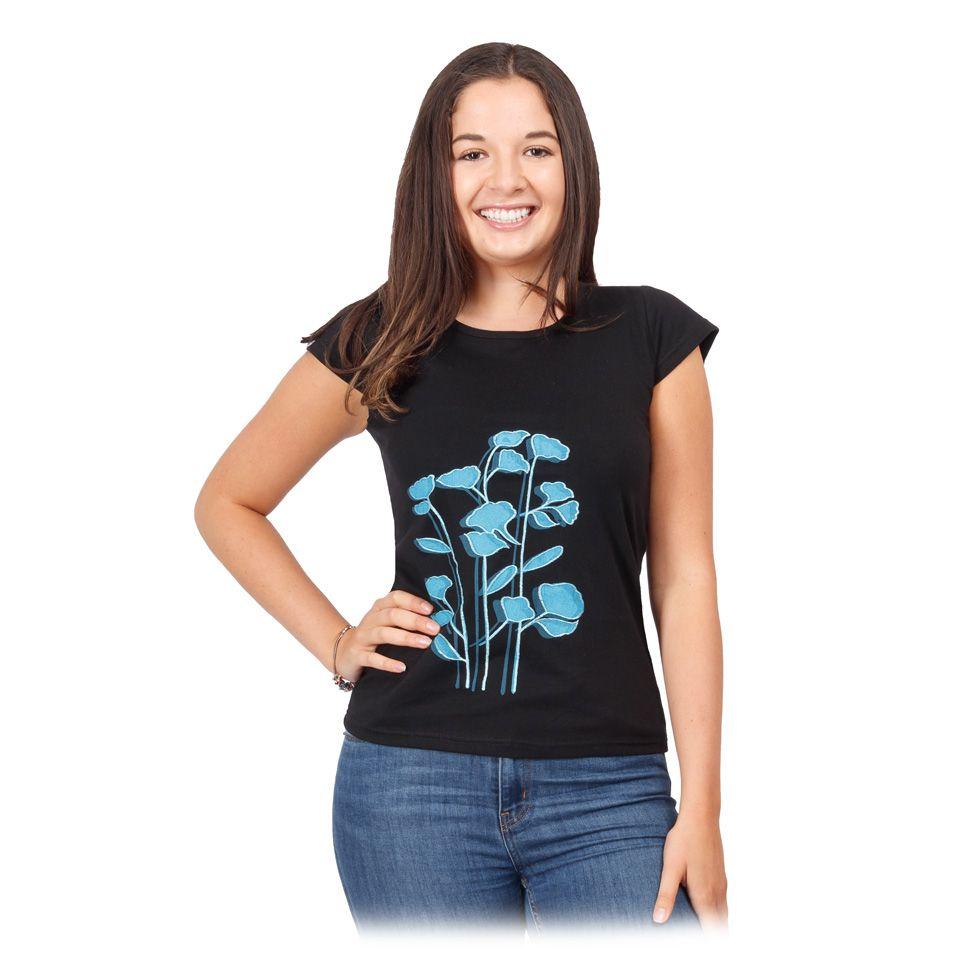 Dámské etno tričko s krátkým rukávem Bayou Nepal