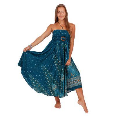 Dlouhá sukně s kokosovou sponou Kelapa Djamila | UNI