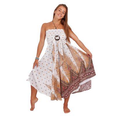 Dlouhá sukně s kokosovou sponou Kelapa Zahra | UNI