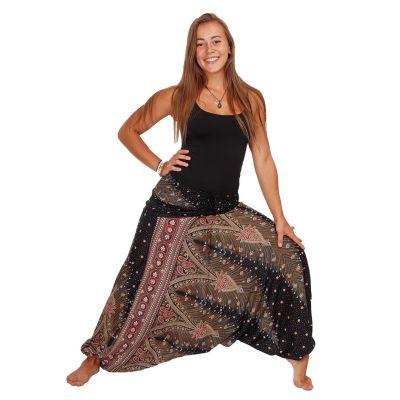 Harémové kalhoty Tansanee Marmara | UNI, L/XL