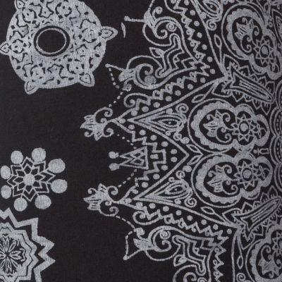 Legíny s potiskem Mandala Black Nepal