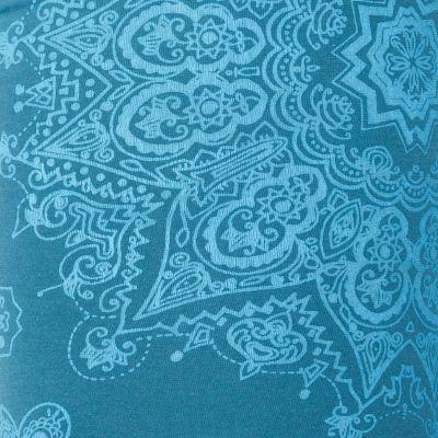Legíny s potiskem Mandala Petrol Blue Nepal