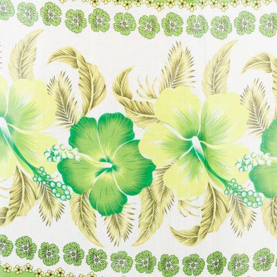 Sarong / pareo Hibiscus Green Thailand
