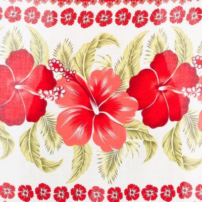 Sarong / pareo Hibiscus Red Thailand