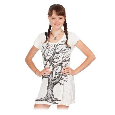 Šaty (tunika) Sure Ohm Tree White | S, M, L, XL, XXL