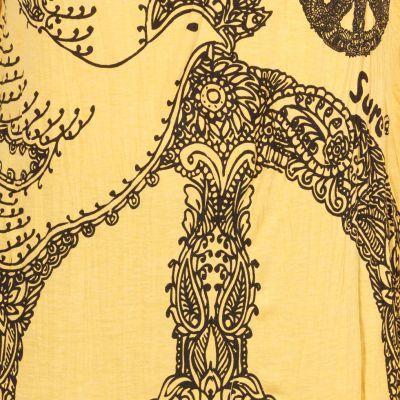 Tričko Sure s kapucí Dove of Peace Yellow Thailand