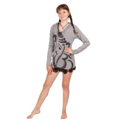 Tričko Sure s kapucí Elephant Grey | S, M, L, XL