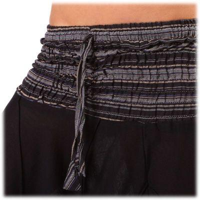 Kalhoty Perempat Hitam
