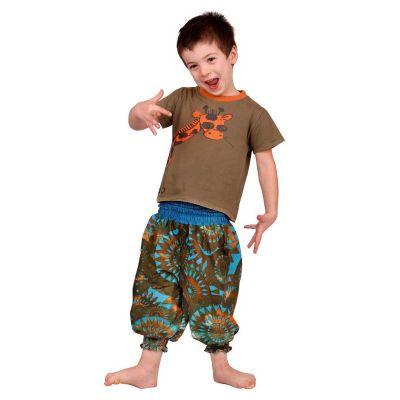 Dětské kalhoty Lagoon Gold