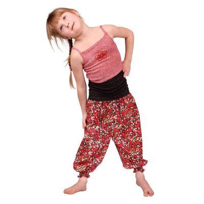 Dětské kalhoty Flower Princess