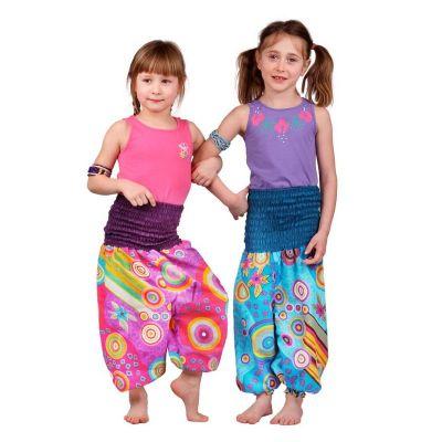 Dětské kalhoty Turquoise Fairy